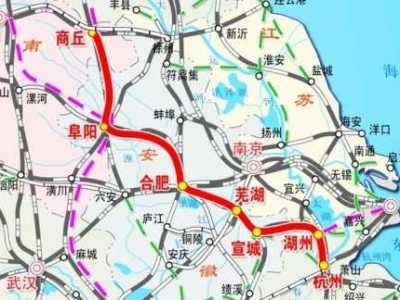 喜爱夜蒲国语快播 华东第二大通道商合杭高铁北段今天开始试运行