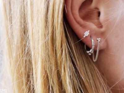 好看的耳坠 现代版一耳三钳戴法示范给你看
